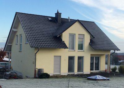 Wohnhausneubau in Gleimenhain-2011